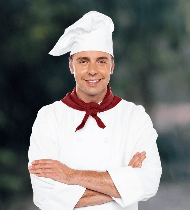 Cook, Chef's uniform, Chef, Chief cook, Uniform, Headgear, Chef, Cooking