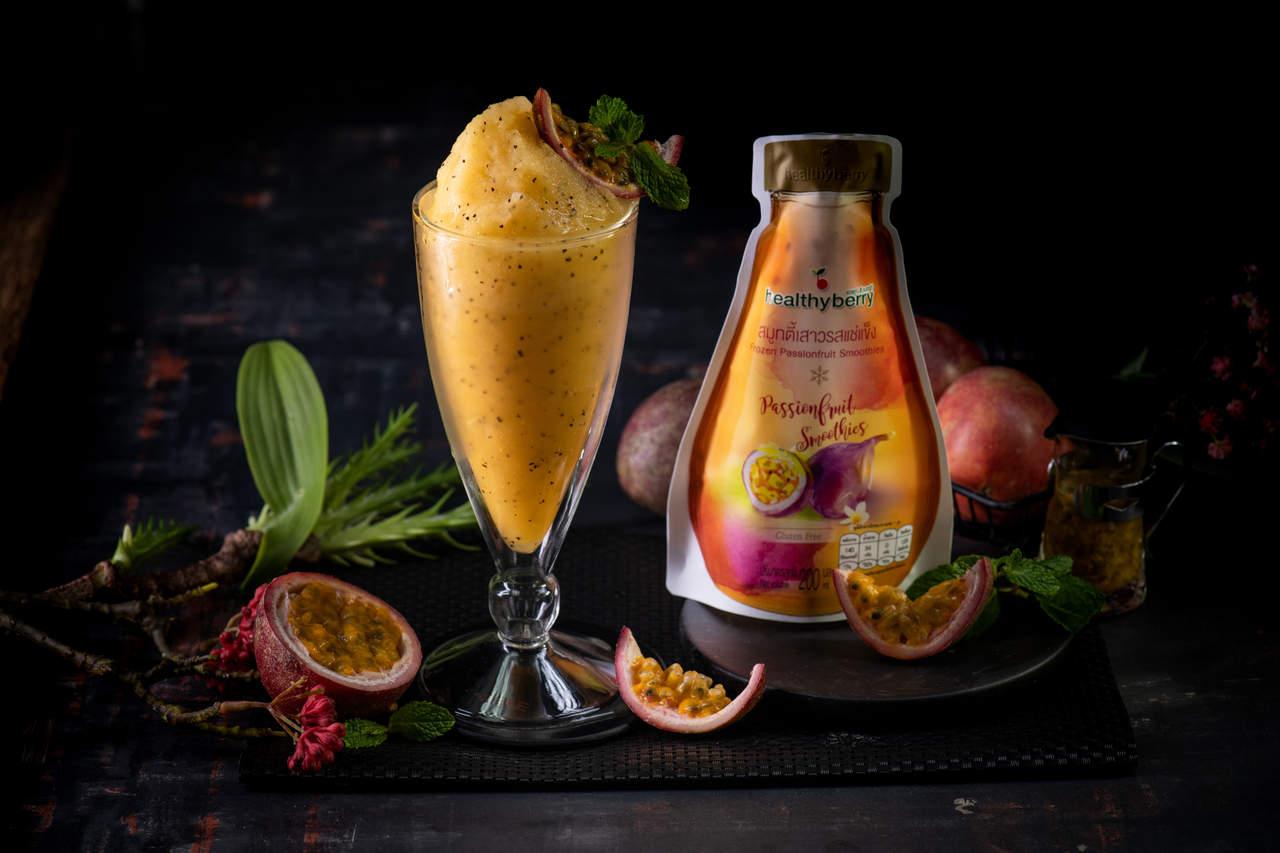 Thakolsri Farm - Passion fruit smoothies