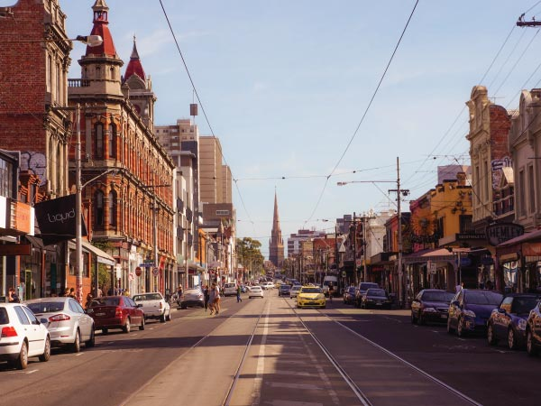 Town, Urban area, City, Neighbourhood, Street, Downtown, Human settlement, Road, Landmark, Lane, Residential area, Transport, Thoroughfare, Building, Infrastructure, Mode of transport, Architecture, Metropolitan area, Metropolis, Vehicle, Great Mills High School, Fitzroy, CBD, Brunswick West, Richmond, Prahran