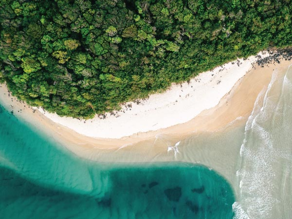 Green, Aerial photography, Water resources, Water, Coastal and oceanic landforms, Photography, Watercourse, Coast, Burleigh Heads, Beach, Wallpaper, Aerial photography