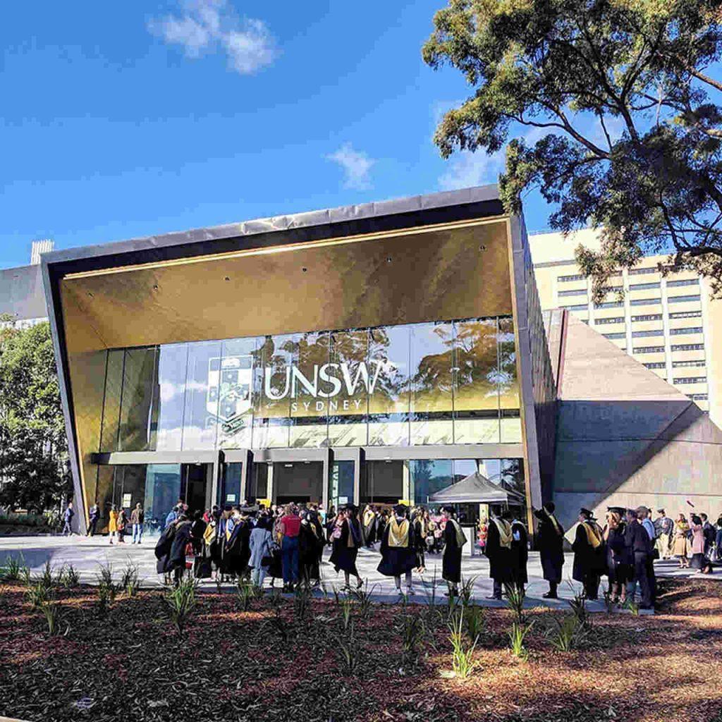 Architecture, Building, Tree, House, Facade, UNSW Sydney, The University of Sydney, Sir John Clancy Auditorium