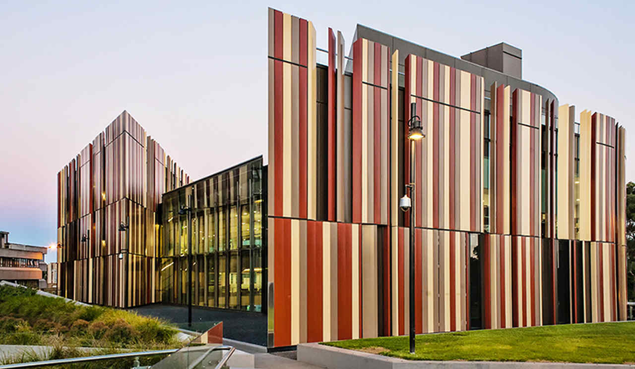 Architecture, Building, Facade, Commercial building, Corporate headquarters, Mixed-use, Material property, Headquarters, House, Campus, Residential area, Macquarie University, Deakin University, Victoria University, Bond University