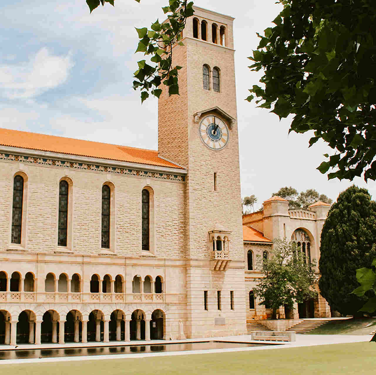 Building, Architecture, Facade, Convent, Medieval architecture, Classical architecture, Tree, Church, College, University of Western Australia, The University of Western Australia, National University of Singapore, University, Doctor of Philosophy