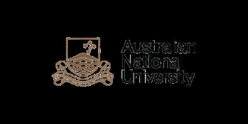 White, Font, Text, Logo, Product, Line, Brand, Design, Footwear, Graphics, Line art, Label, Illustration, Rectangle, Pattern, Circle, Australian National University, The Australian National University, Logo
