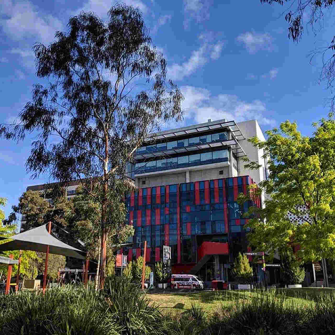 Sky, Architecture, Property, House, Building, Tree, Cloud, Botany, Home, Real estate, City, Spring, Leisure, Tourism, Mixed-use, Plant, Rural area, Swinburne University of Technology, Swinburne University of Technology