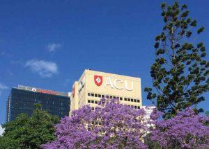 Sky, Tree, Plant, Spring, Flower, Architecture, Real estate, Building, Signage, American Civil Liberties Union, Australian Catholic University,