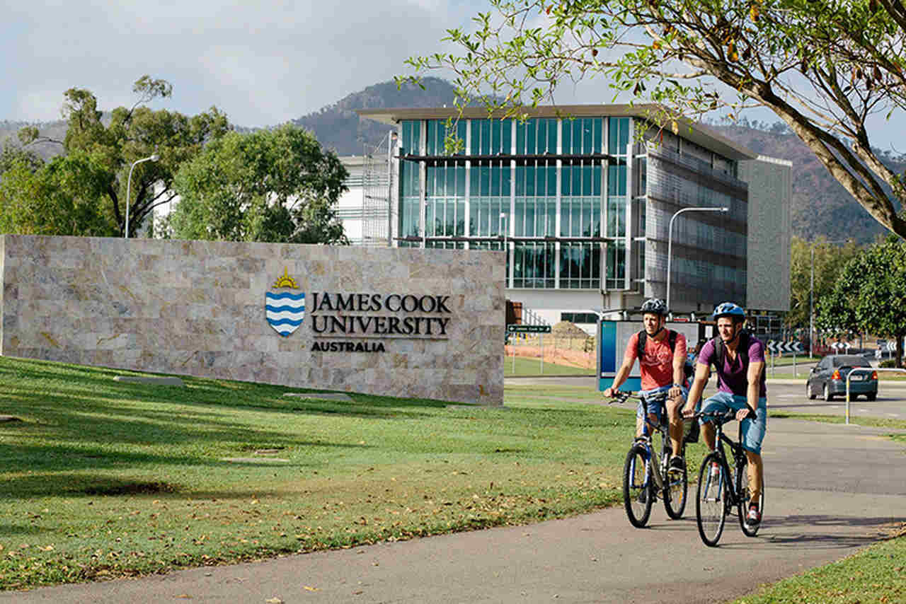 Bicycle, Cycling, Architecture, Vehicle, Recreation, Tree, Campus, Urban area, Endurance sports, City, Road bicycle, House, Building, Cycle sport, James Cook University, Pullmantur Cruises, JCU: James Cook University, Australia, Townsville, Douglas Campus, James Cook University, University, Campus