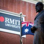 Statue, RMIT University, RMIT University