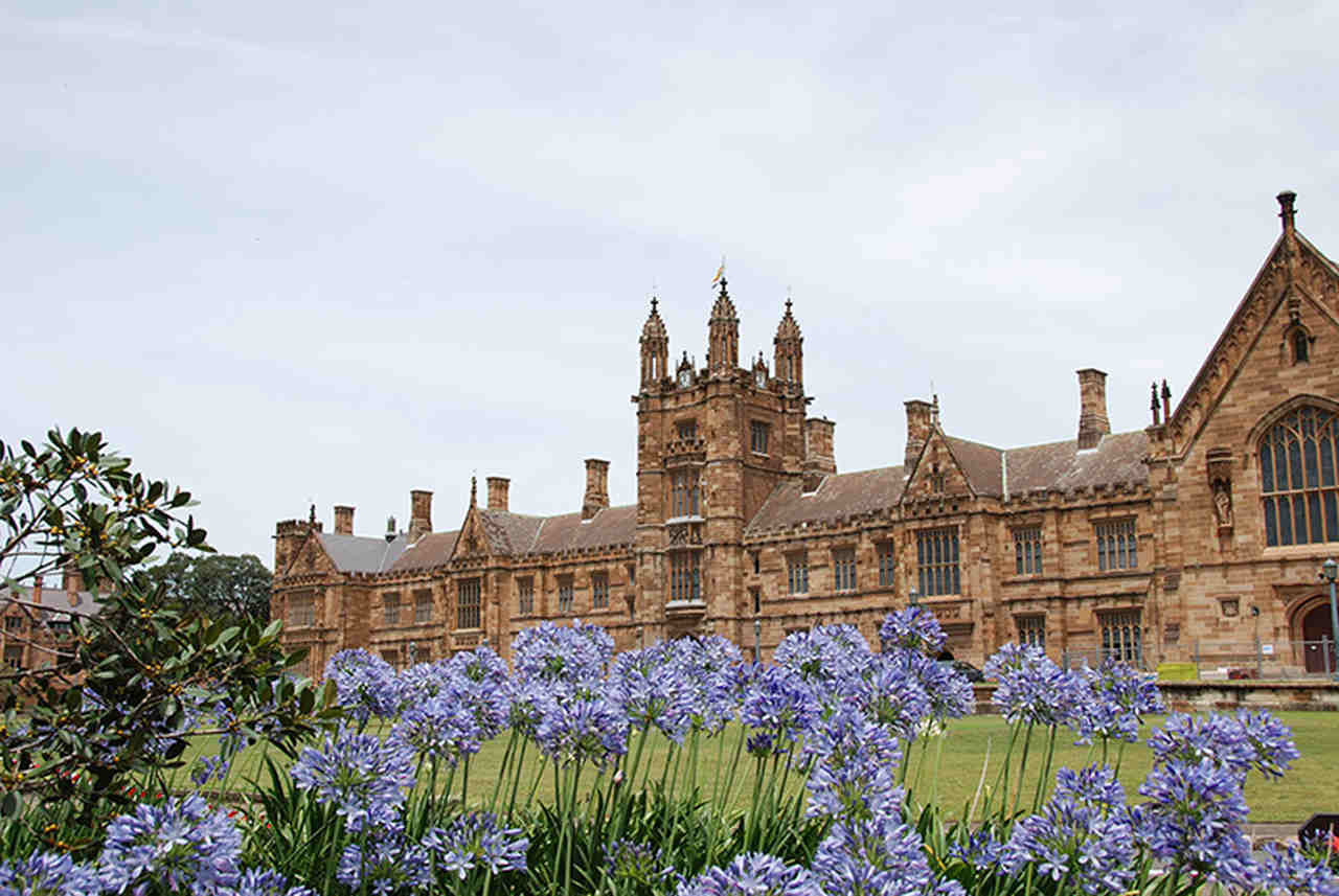 Flower, Architecture, Spring, Building, Plant, Château, Estate, Stately home, Tree, Castle, House, Palace, Manor house, City, Garden, University of Sydney, The University of Sydney, The University of Queensland, University of Southern Queensland, The University of Sydney, University of Sydney Union, University, Student, Monash University