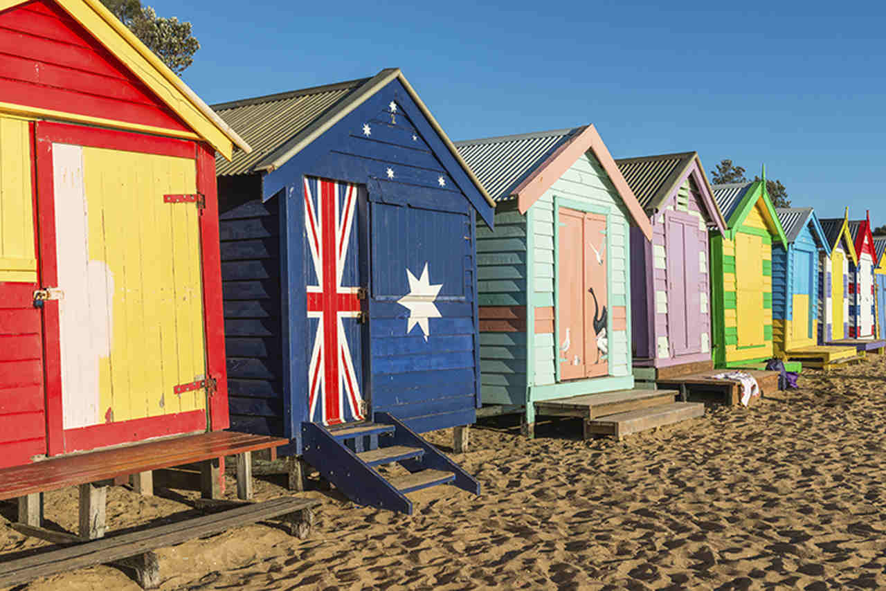 House, Flag, Building, Shed, Beach, Home, Cottage, Vacation, Architecture, Siding, Sand, Outhouse, Brighton Beach, United Kingdom, St Kilda beach, Port Campbell National Park, Bondi Beach, Brighton beach, Brighton Bathing Boxes, Beach hut, Beach