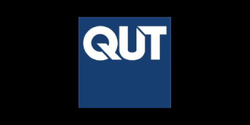 Text, Logo, Font, Electric blue, Blue, Cobalt blue, Brand, Graphics, Trademark, Queensland University of Technology, Logo, Brand