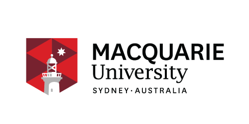 Font, Text, Logo, Product, Brand, Line, Banner, Graphics, Graphic design, Trademark, Macquarie University, Macquarie University, Logo