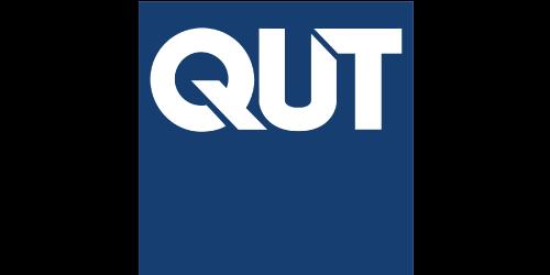 Text, Electric blue, Cobalt blue, Font, Blue, Logo, Brand, Graphics, Queensland University of Technology, QUT Gardens Point Campus, Logo