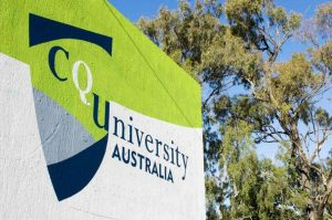 Tree, Font, Signage, Logo, Real estate, Architecture, Sign, Central Queensland University, CQUniversity Rockhampton North, Insight Education Consulting, University, Education, Student