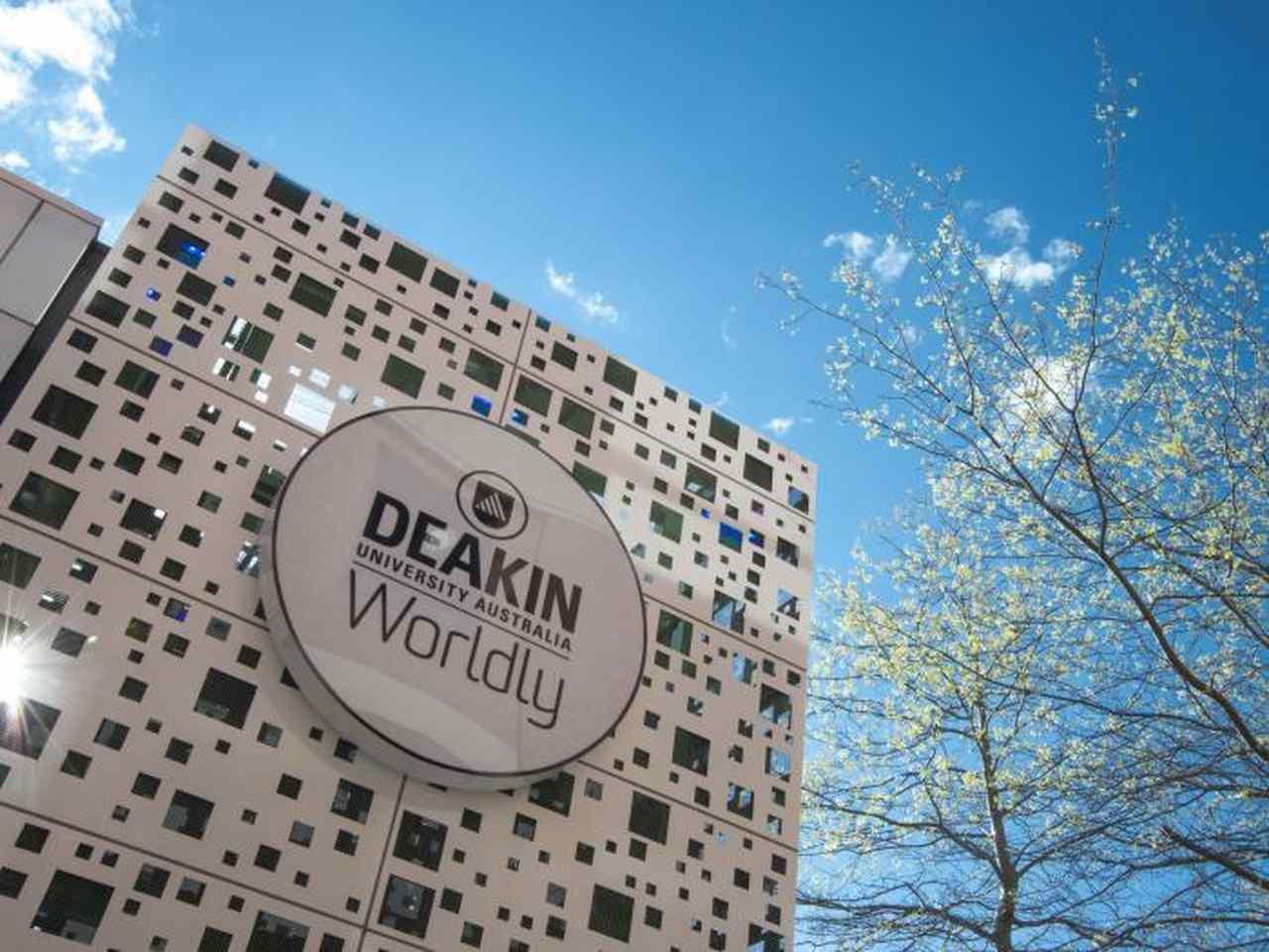 Sky, Daytime, Architecture, Font, Tree, Building, Cloud, Signage, Deakin University, Deakin University, Deakin Optometry, University, Student, Higher Education, Public university