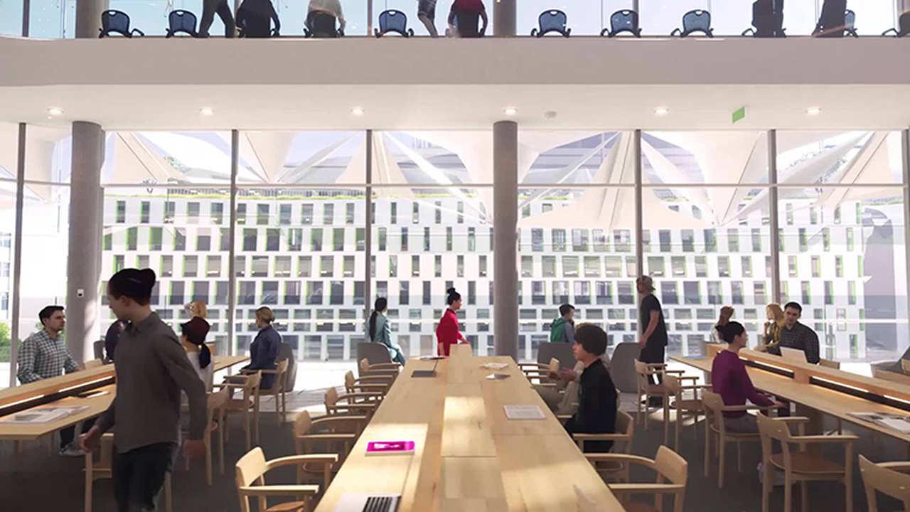 Architecture, Building, Design, Restaurant, Interior design, Room, Event, University of Technology Sydney, UTS Central