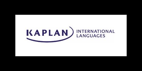 Text, Font, White, Logo, Black, Blue, Product, Brand, Line, Banner, Graphics, Trademark, Electric blue, Label, Graphic design, Kaplan International English, Kaplan Singapore