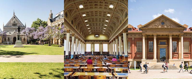 Architecture, Landmark, Building, Public space, Pavilion, City, Spring, Leisure, Column, Tourism, The University of Adelaide, Higher Education